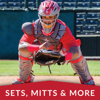 Catcher's Sets, Mitts & More