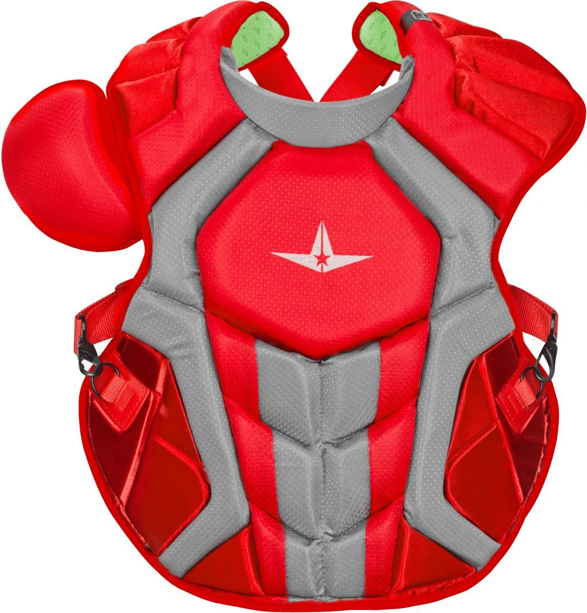 """Allstar System7 Axis CC 16.5/"""" Adult Baseball Catcher/'s Chest Protector CPCC40PRO"""