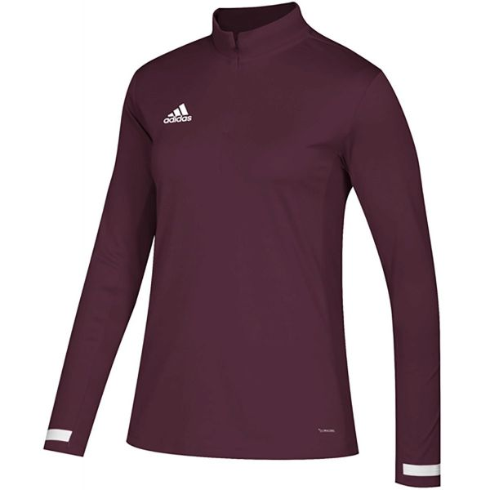 Adidas Women's Team 19 Long Sleeve 1/4 Zip