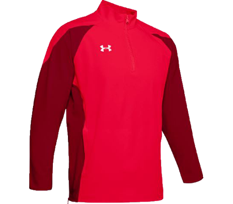 Under Armour Mens Squad Long Sleeve Coach's 1/4 Zip Pullover