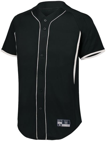 Augusta Youth Game7 Full-Button Baseball Jersey