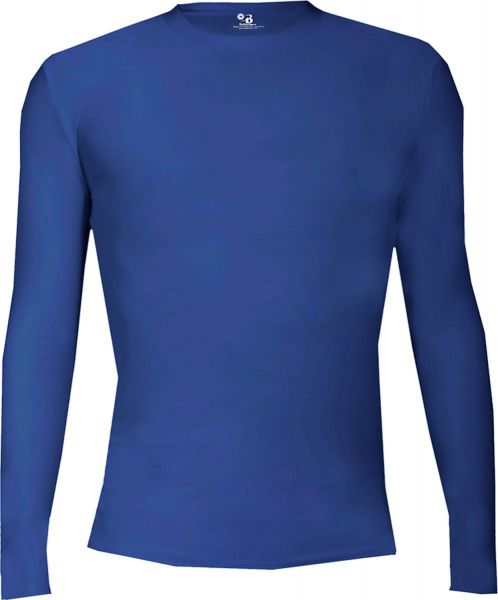 Badger Youth Pro-Compression Long Sleeve Crew