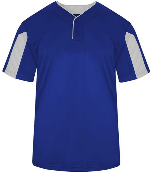 Badger Youth Striker Two-Button Baseball Jersey