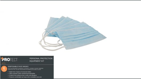PROtect Medical Kits 30 Piece PPE Kit