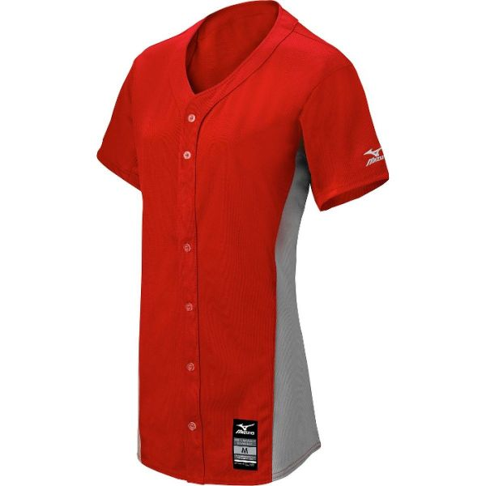 Mizuno Women's Pro Full Button Game Jersey