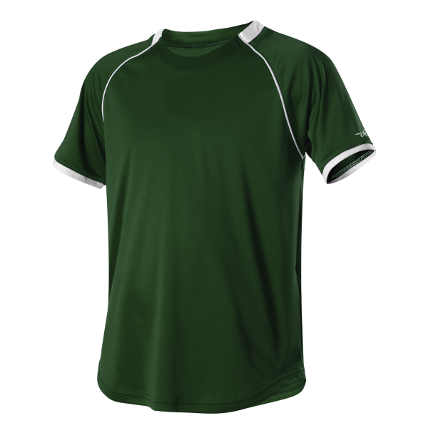 Alleson Youth 2 Color Crew Neck Baseball Jersey