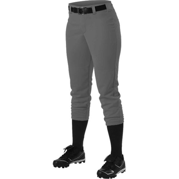 Alleson Girls' Softball Pant with Belt Loops