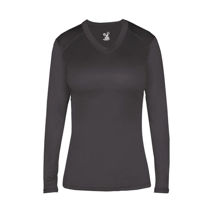 Badger Women's Ultimate Softlock Long Sleeve Fitted Shirt