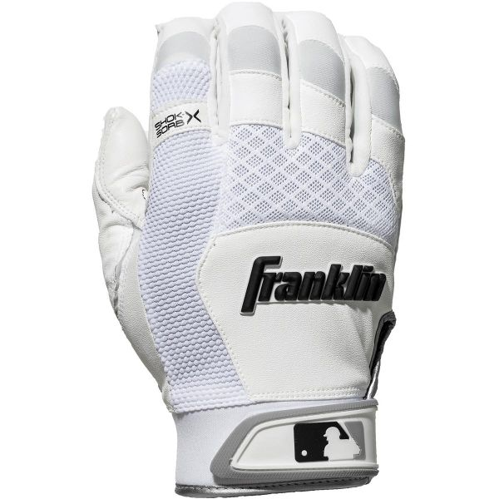 Franklin Mens Shock-Sorb X Batting Gloves