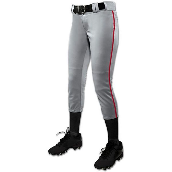 Champro Girl's Tournament Fastpitch Piped Pant