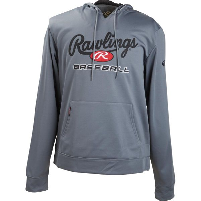 Rawlings Mens Performance Fleece Baseball Hoodie