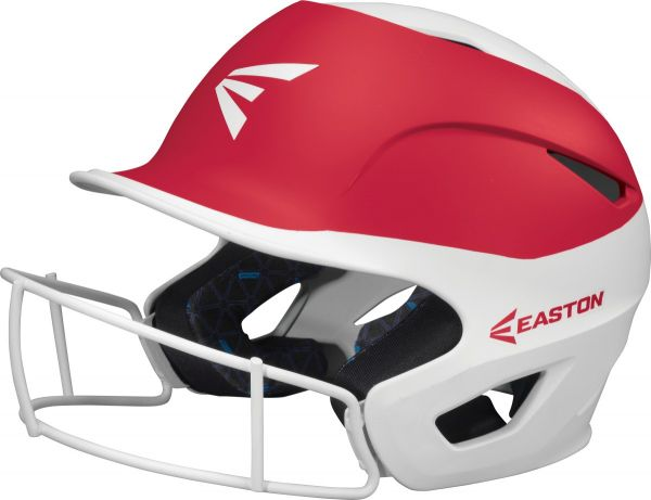 Easton Prowess Grip Two-Tone Batting Helmet With Mask
