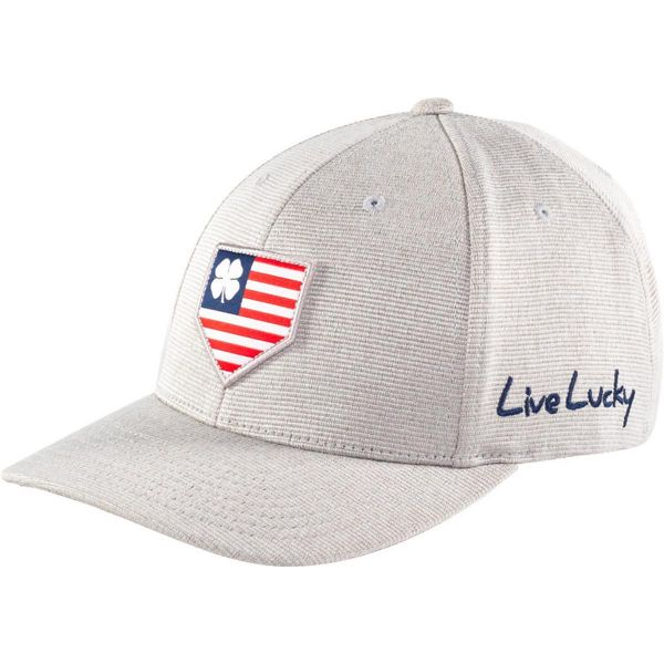 Rawlings Black Clover All-Star Stretch Fit Hat