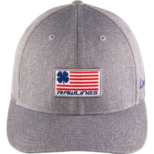 Rawlings Black Clover Rbc Nation  Stretch Fit Hat