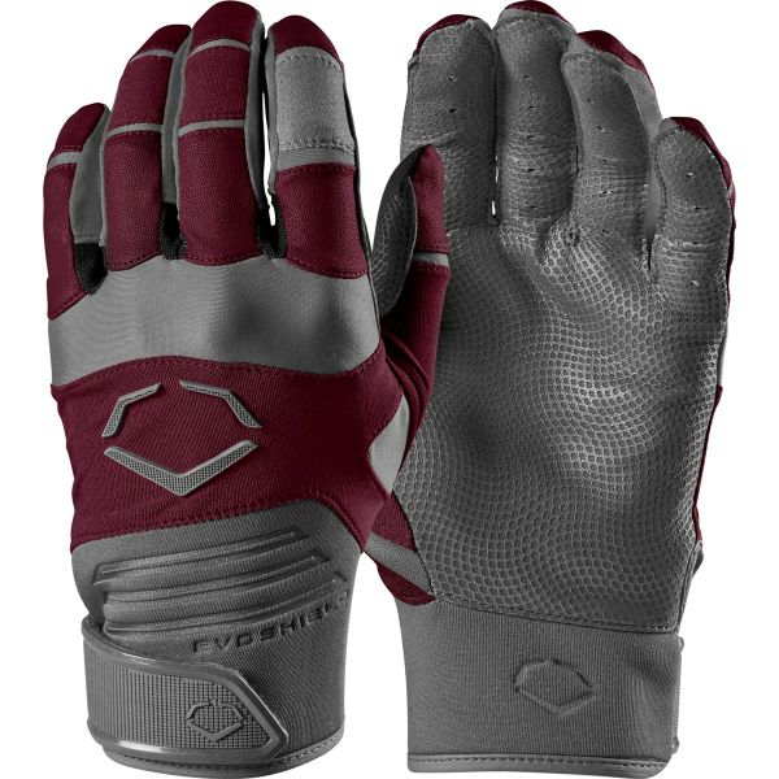 EvoShield Aggressor Adult Baseball Batting Gloves Pair