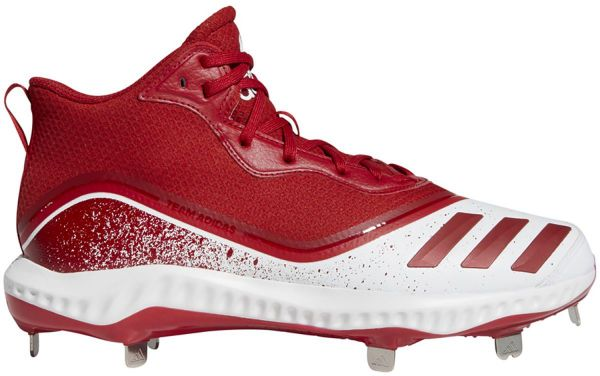 Adidas Men's Icon V Bounce Mid Metal Baseball Cleats