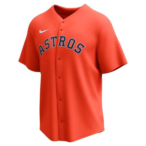 Nike Team Youth Wordmark MLB Full Button Jersey