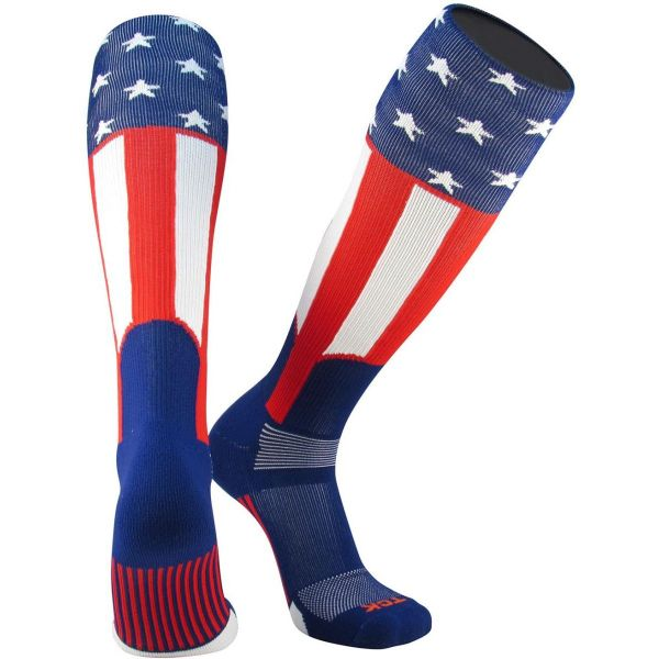 Twin City Uncle Sam USA Knit-In Stirrup Sock