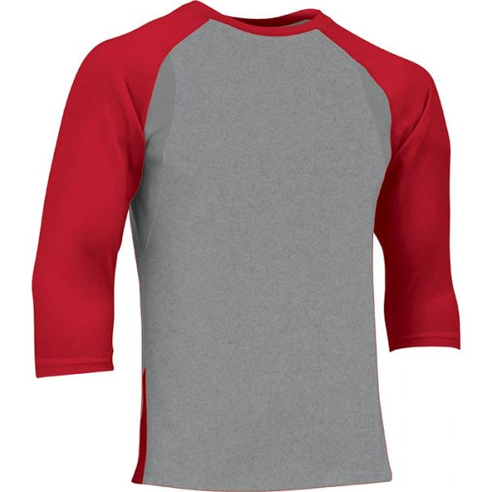 Champro Youth Extra Innings 3/4 Sleeve Baseball Shirt