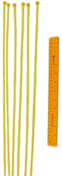 Jaypro Fence Top Protection Ties (Yellow)