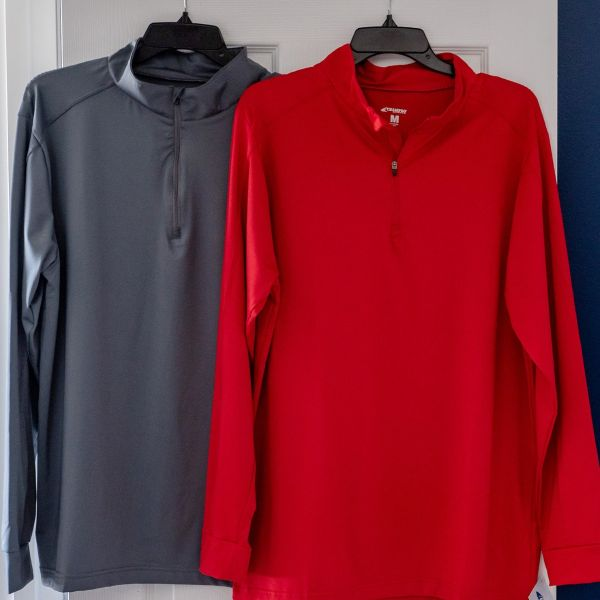 Champro Adult Element Warm-Up 1/4 Zip Pullover