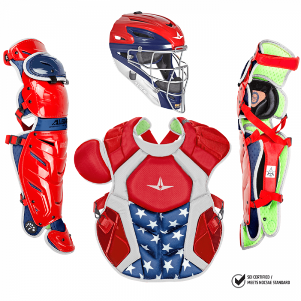 All-Star Adult System7 Axis Pro USA Catchers Set