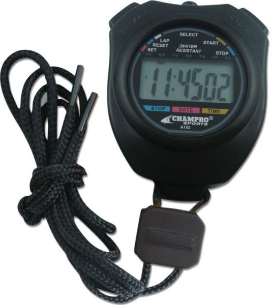 Champro Water Resistant Stop Watch