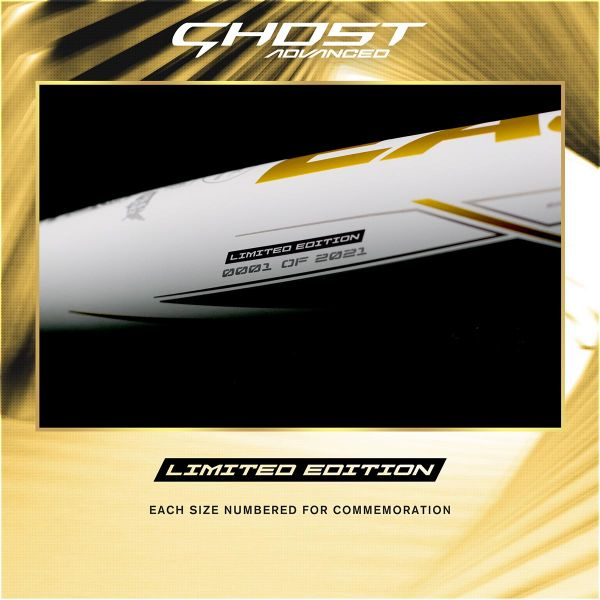 Easton 2021 Ghost Advanced Go For The Gold -10 Fastpitch Bat