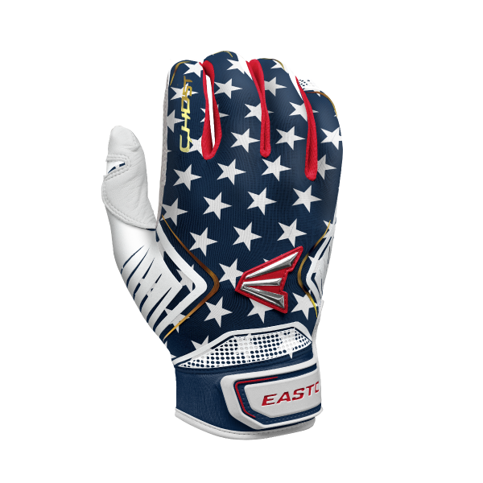 Easton Ghost Fastpitch Women's Stars & Stripes Batting Gloves