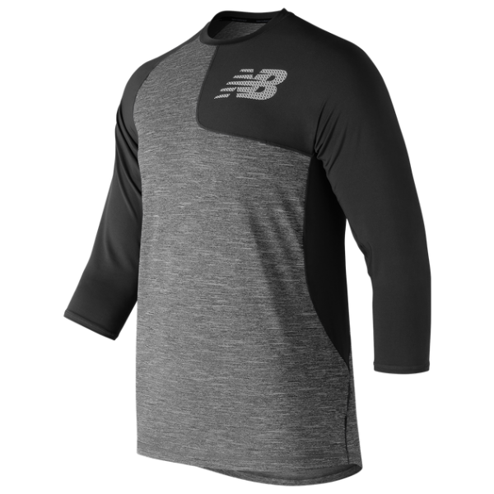 New Balance Mens Asym 2.0 Left Top Baseball Shirt