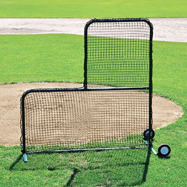 Jaypro Collegiate Pitcher's Safety L-Screen