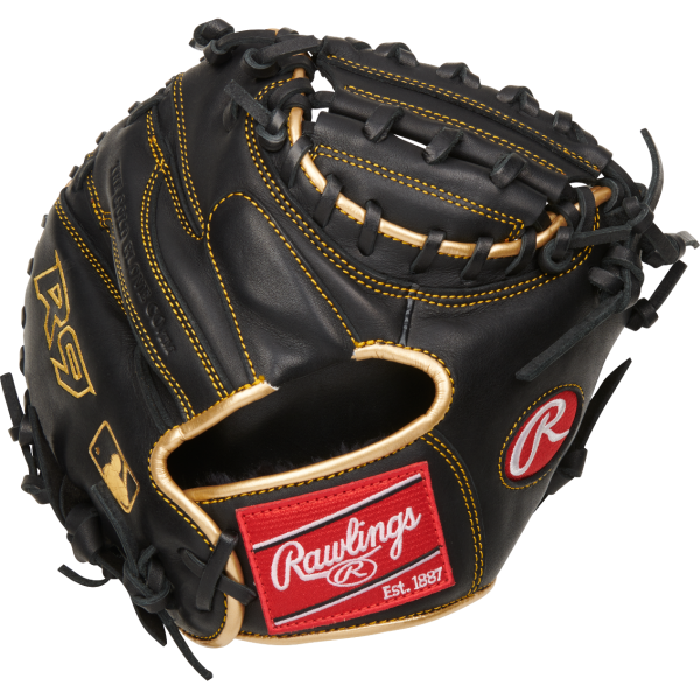 Rawlings R9 Baseball Training Catchers Glove 1-Piece Solid Web 27