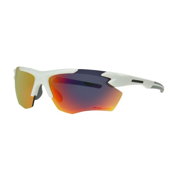 Rawlings 2102 White And Red Mirror Sunglasses