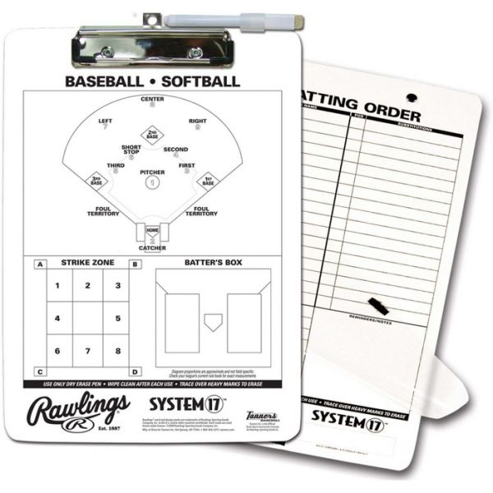 Rawlings System 17 Coaching Clipboard