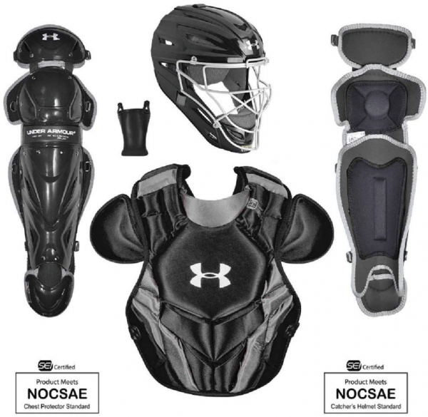 Under Armour Intermediate Converge Victory Series Catcher's Set  (Ages 12-16)