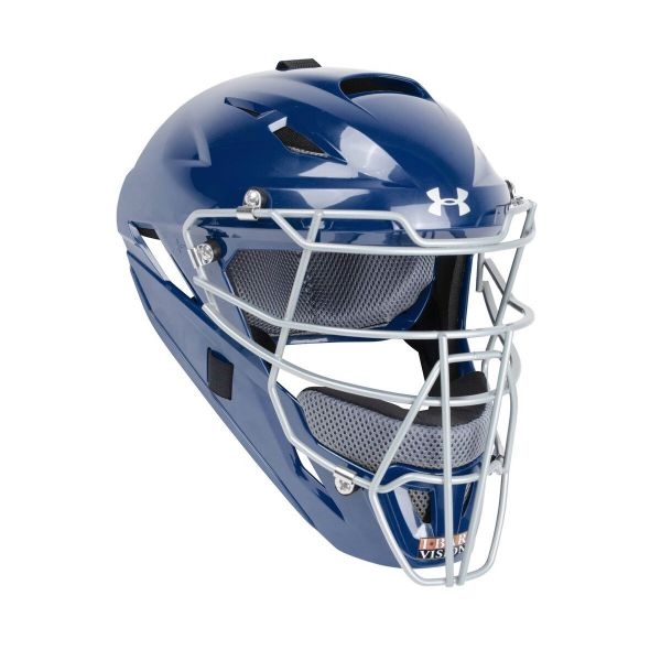 Under Armour Converge Youth Catching Mask Solid Molded