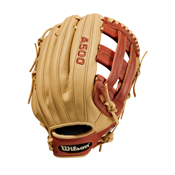 Wilson A500 All Leather Youth 12