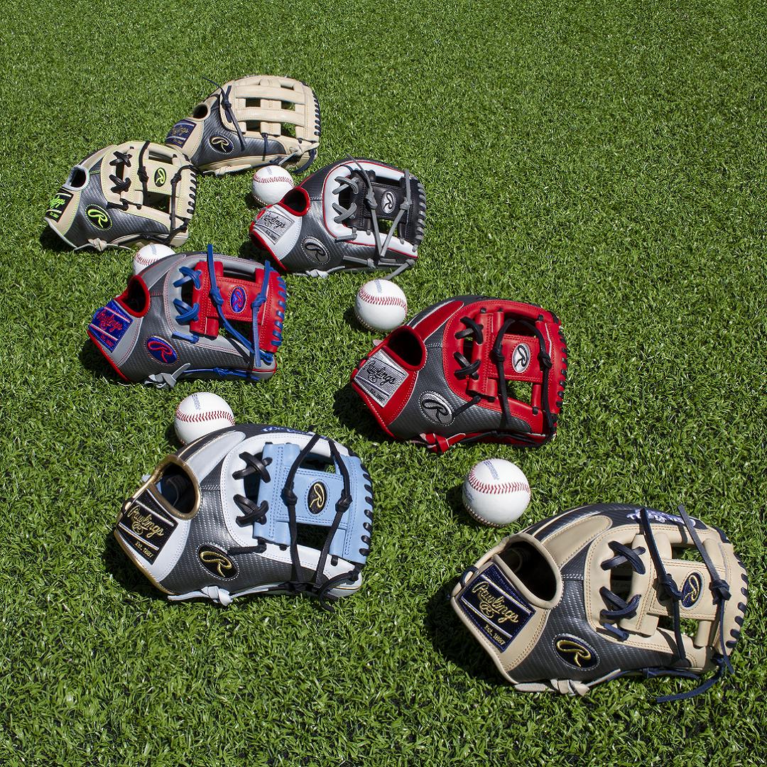Baseball Express Exclusive:  Rawlings Heart of the Hide Baseball Gloves