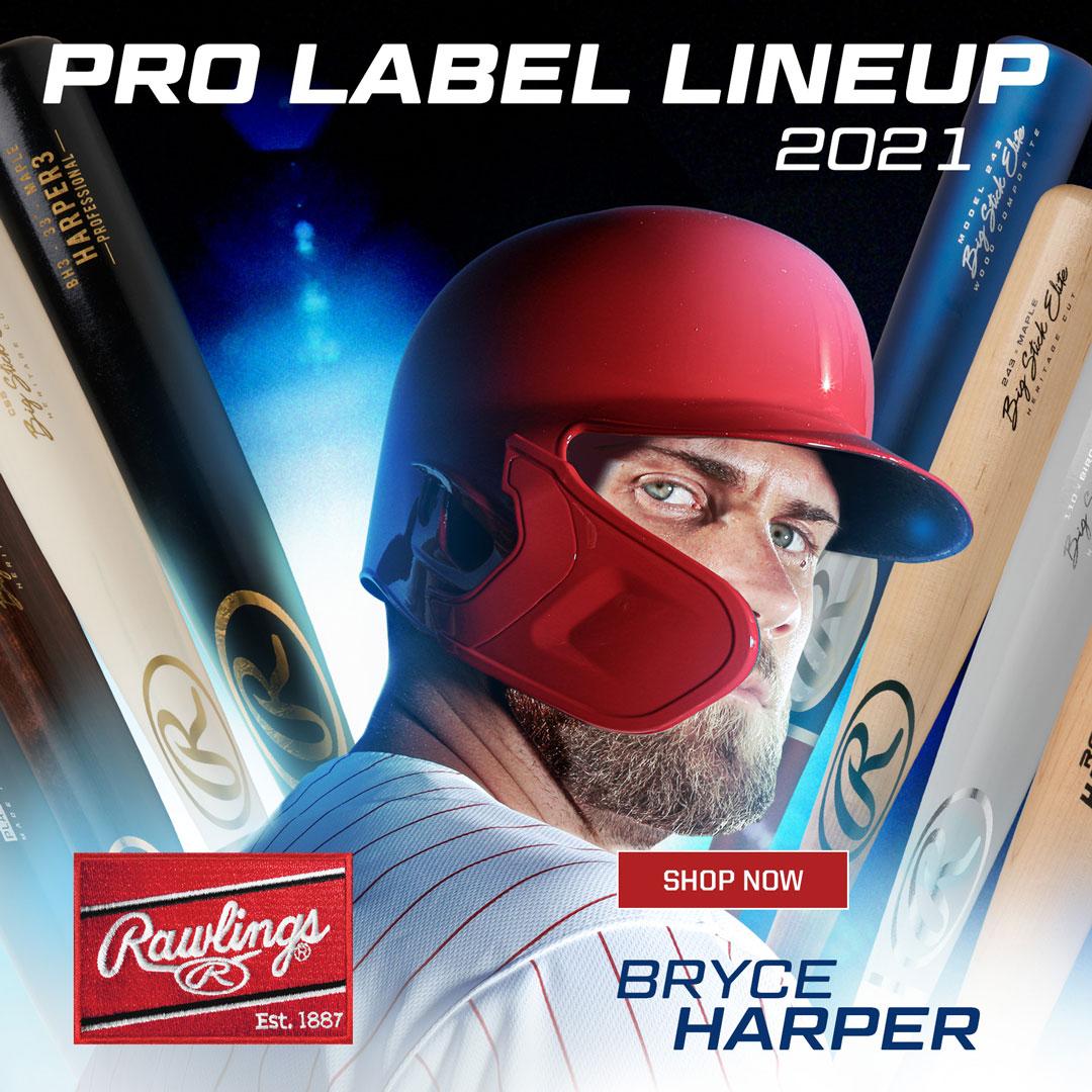 Rawlings Pro Label Wood Baseball Bats
