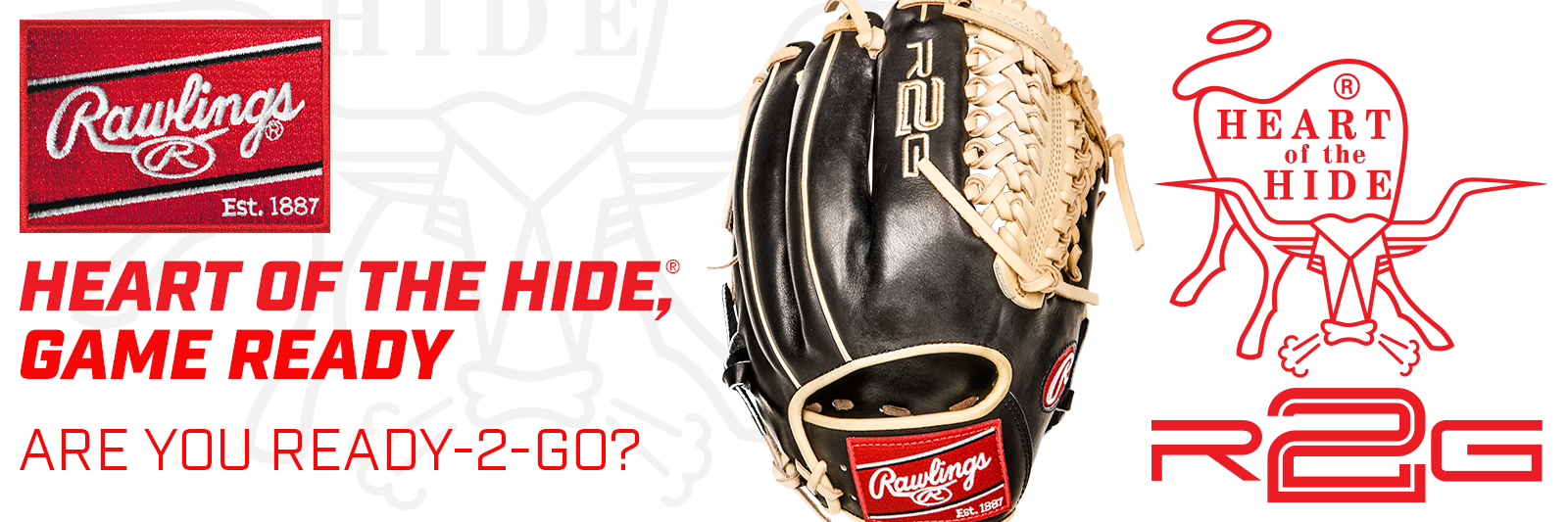 Rawlings R2G Baseball Gloves